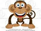 Happy Monkey Cartoon Picture