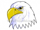 Royalty Free Patriotic Eagle Clipart
