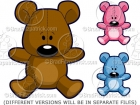 Cartoon Teddy Bear Clipart