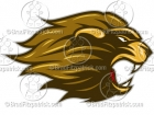 Cartoon Lion Mascot Clipart Graphics