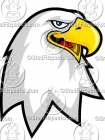 Cartoon Eagle Mascot Clipart Graphics