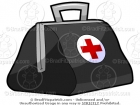 Cartoon Doctor Bag Clipart