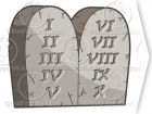 Ten Commandments Clipart