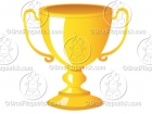 Cartoon Trophy Clipart