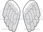 Cartoon Wings Clipart