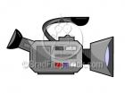Cartoon Video Camera Clipart