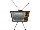 Old TV Clipart - Retro TV Clipart Television